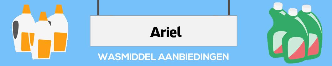 Ariel wasproducten aanbieding